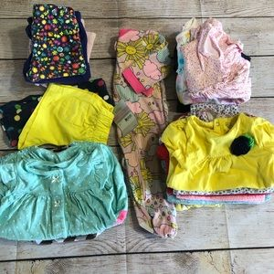 9month girls clothing lot